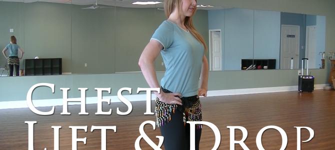 Belly Dance Chest Lift & Drop