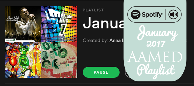 January 2017 Spotify Playlist