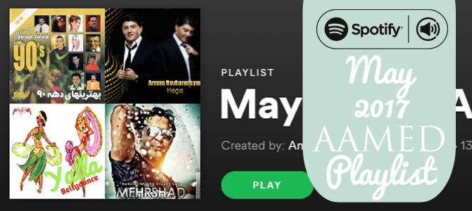 May 2017 Spotify Playlist
