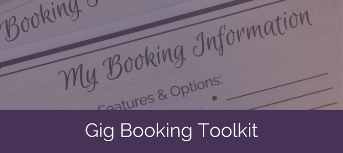 Gig Booking Toolkit