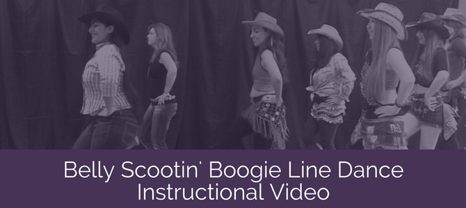 Belly Scootin' Boogie Line Dance Instructional Video