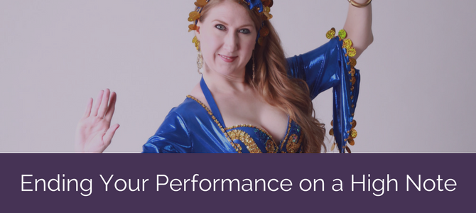 Ending Your Performance on a High Note